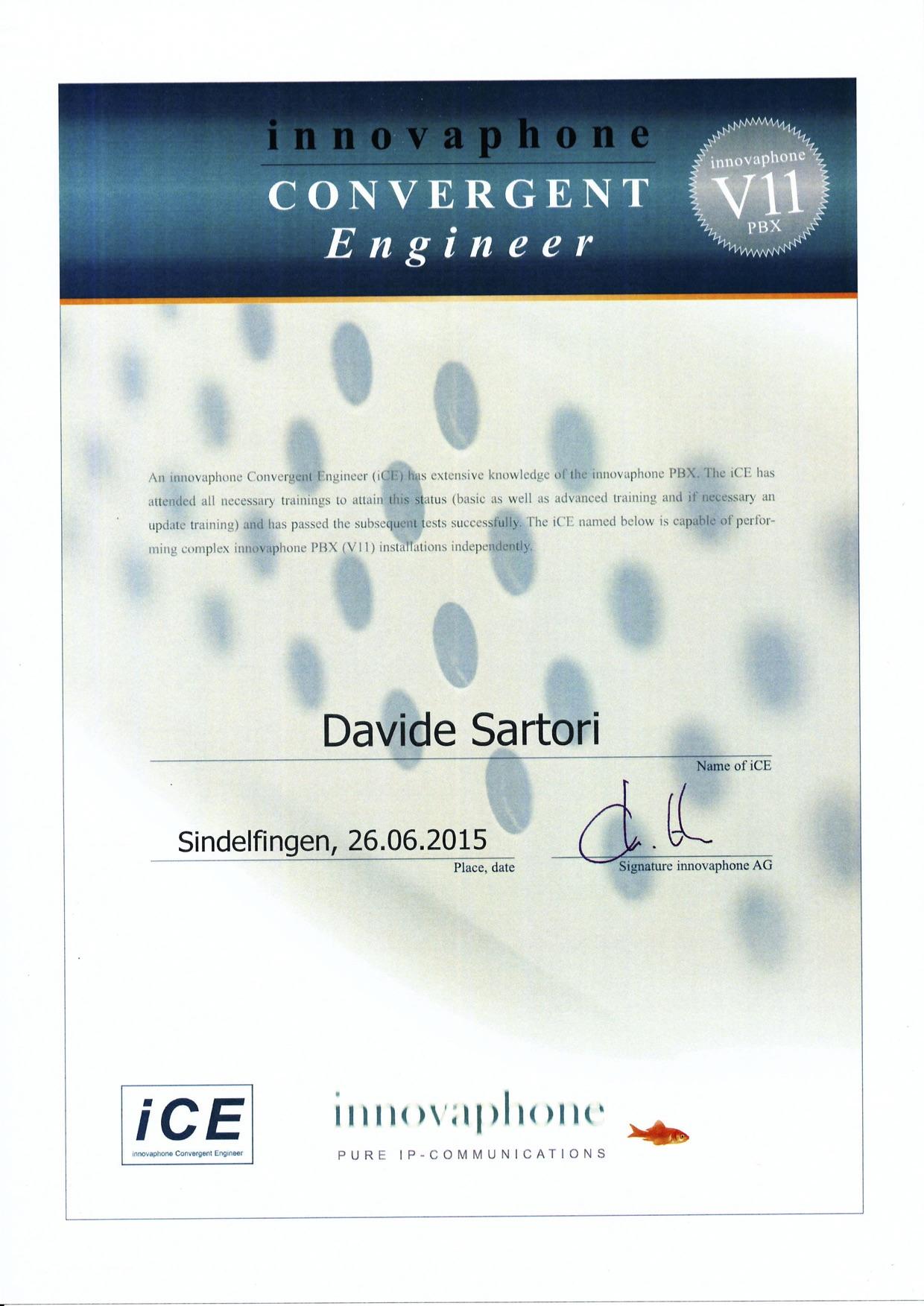 Innovaphone Convergent Engineer