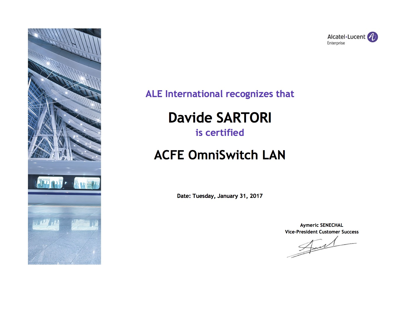 Alcatel ACFE OmniSwitch Lan