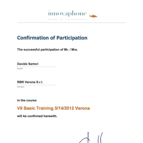 Innovaphone V9 Basic Training