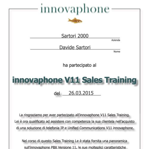Innovaphone V11 Sales Training