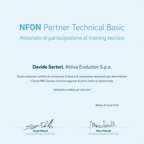 NFon Partner Technical Basic
